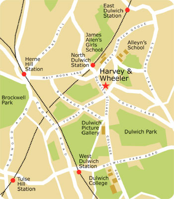 Cafes Near Dulwich Picture Gallery