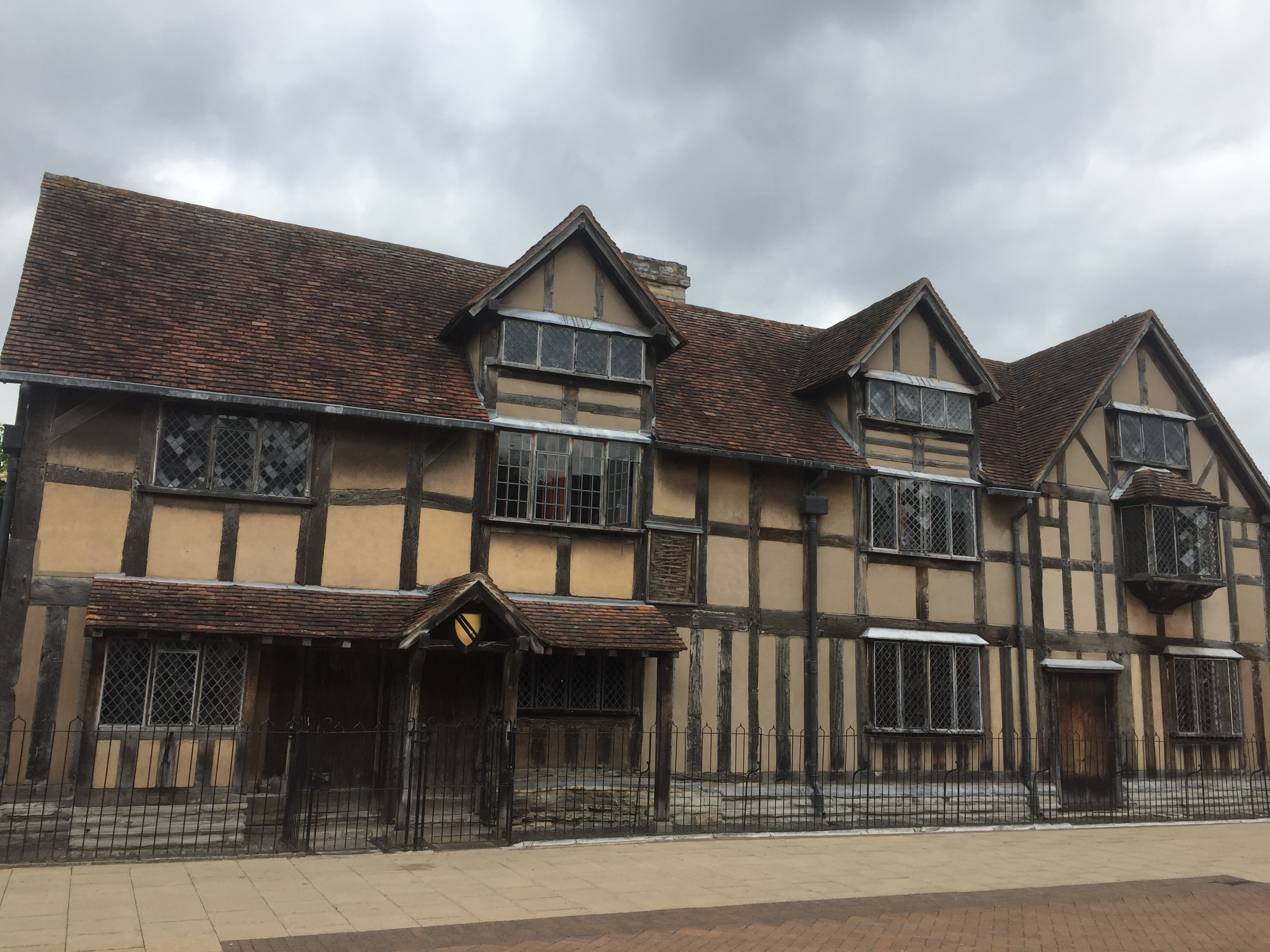 The home of Shakespeare in the centre of Stratford-upon-Avon